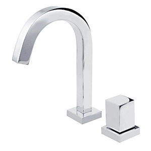 Torneira Convencional para Banheiro Mesa Bica Fixa Alta Cromado Vitra  1194-VI-CR Fabrimar