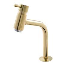 Torneira Convencional Para Banheiro Mesa Bica Fixa Baixa Dourado Bello 5194D Romar