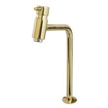 Torneira Convencional Para Banheiro Mesa Bica Fixa Alta Dourado Bello 5195D Romar