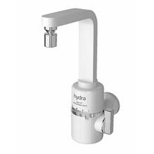 Torneira Elétrica para Parede de Cozinha 127V (110V) Branco Slim 4T Hydra Corona