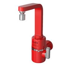 Torneira Elétrica para Parede de Cozinha 127V (110V) Vermelho Slim 4T Hydra Corona