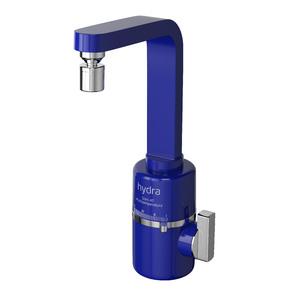 Torneira Elétrica para Pia de Cozinha 127V (110V) Azul Slim 4T Hydra Corona