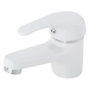Torneira Monocomando para Pia de Banheiro Branca Bica Alta Natu Sensea
