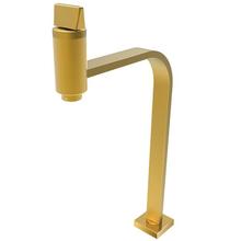 Torneira para Banheiro Mesa Bica Alta Dourada Prima 1209 Fani