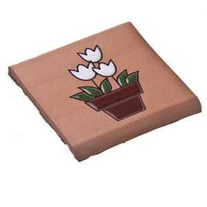 Tozeto cer mica acetinado vaso de flor 8x8cm f nix leroy for Polvere di ceramica leroy merlin