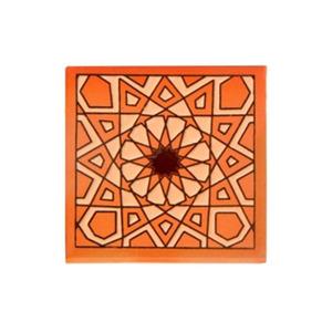 Tozeto Cerâmica Acetinado Areia Bege  11,5x11,5cm Fênix