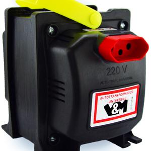 Transformador v m 5000va com tomada tripolar de 110 para - Transformador 220 a 110 ...