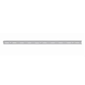 Trilho Aço Simples Branco 100CM