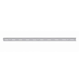 Trilho Aço Simples Branco 200CM