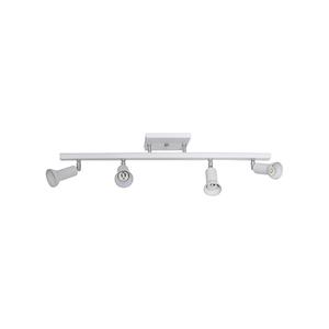 Trilho Eletrificado para Spot Inspire 4 Lâmpadas Branco