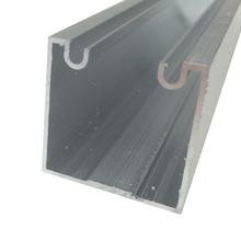 Trilho Fermax para Porta de Correr 2m Alumínio 2 Portas Decal