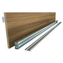 Trilho para Porta de Closet Nogal 8x30x200cm Utilfer
