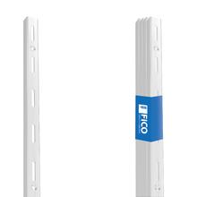 Trilho para Prateleira Ordenare Aço Versatil 200cm Branco