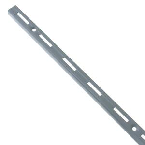 Trilho para Prateleira Utilfer Branco 200cm Prata