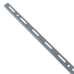 Trilho para Prateleira Utilfer Branco 30cm Prata