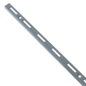 Trilho para Prateleira Utilfer Branco 50cm Prata