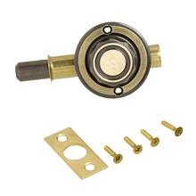Trinco Zamac Latonado Oxidado 68x55x45mm União Mundial