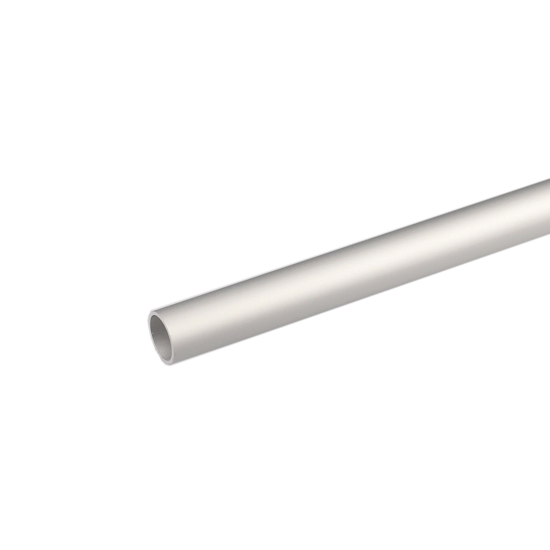 Perfil alum nio tubo redondo 1mx12x1mm anodizado leroy for Perfil u aluminio leroy merlin