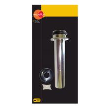 """Tubo de Ligação Plástico Cromado 1.1/2"""" 20cm Equation"""