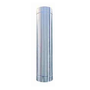 Tubo inox 5 para fog o a lenha 1m begnami leroy merlin for Tubo irrigazione leroy merlin