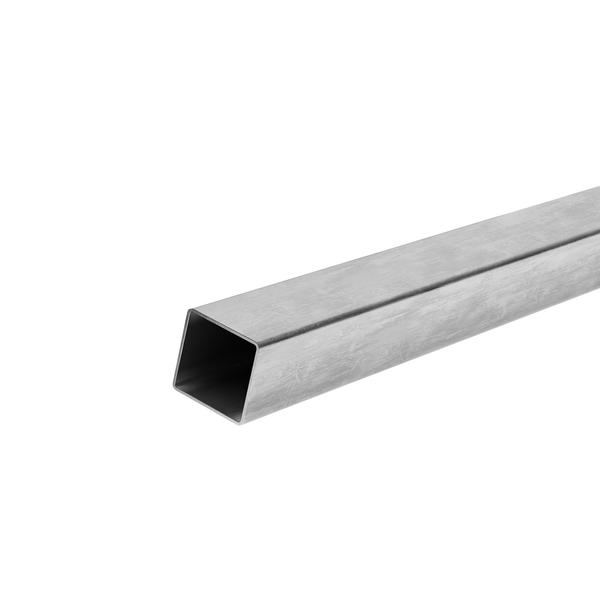 Tubo quadrado 80x80x1 20mm a o carbono galvanizado abdfa for Tubo irrigazione leroy merlin