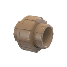 """União Marrom PVC Água Fria 25mm ou 3/4"""" Tigre"""