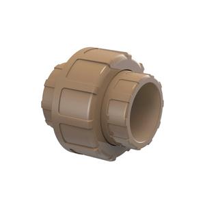 "União Marrom PVC Água Fria 50mm ou 1.1/2"" Plastilit"