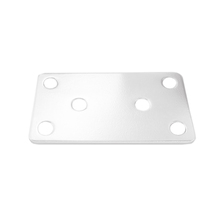 União Uso Geral 8x4cm Aço Branco Zamar