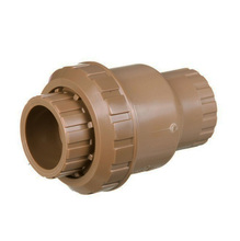 """Válvula de Retenção Marrom PVC Soldável 60mm ou 2"""" Tigre"""