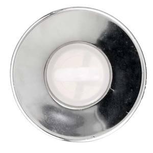 """Válvula para Lavatório ABS Cromado 2.3/8"""" X  1"""" Longa Com Ladrão  VIP"""