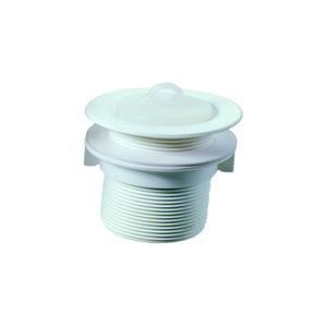 Válvula para Lavatório Plástico Branco Longa VIP