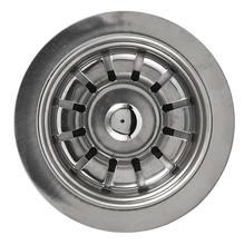 """Válvula para Pia de Cozinha ABS e Inox Cromado 3,5"""" Curta Sem Ladrão Luxo Franke"""