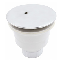 Válvula Piso Box Curta com Saída Vertical 9cm Cromada Celite