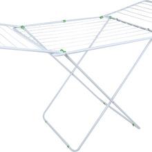 Varal de Chão Maxi Aço Branco com abas 174x70x95 cm MOR