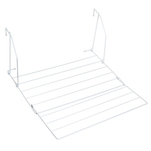 Varal Portátil Aço Branco 50x54x25cm Maxeb
