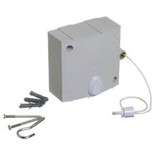 Varal Retrátil/Automático Plástico Branco 1 corda de 6m Maxeb