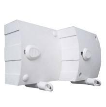 Varal Retrátil/Automático Plástico Branco 2 cordas de 6m cada Maxeb