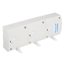 Varal Retrátil/Automático Plástico Branco 3 cordas de 6m cada Maxeb