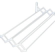 Varal Sanfonado Aço Branco 42x120x16 cm MOR