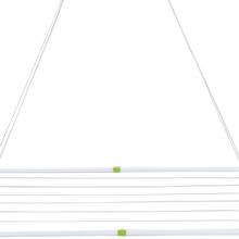 Varal de Teto Aço Branco 120x56x2 cm MOR