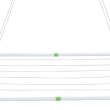 Varal de Teto Aço Branco 90x56x2 cm MOR