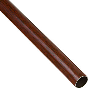 Varão Aço Revestido Mogno 1,50m 19mm Santone