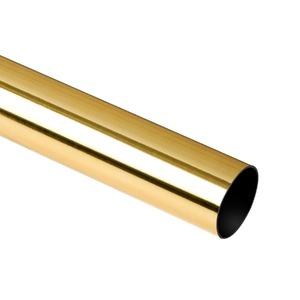 Varão Alumínio Cromado Dourado 2,00m Couselo