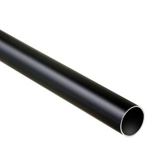 Varão Alumínio Fosco Preto 2,00m DeVictor