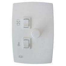 Variador Rotativo 200 Branco 220V LU para Ventilador  PW Eletronica