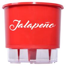 Vaso Auto-Irrigável - Médio N3 - Coleção de Pimentas - Jalape