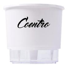 Vaso Auto-Irrigável Raiz - Grande - Gourmet - Branco - Coentro