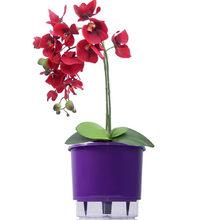 Vaso Auto-Irrigável Raiz - Grande - Liso - Violeta