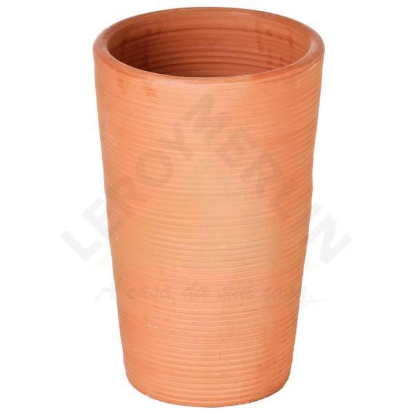 Vaso cer mica riscado terracota grande leroy merlin - Ceramica leroy merlin ...