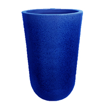 Vaso Cerâmica Americano Azul Extra Grande